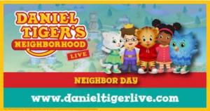 DANIEL TIGER'S NEIGHBORHOOD LIVE Comes To The Washington Pavilion