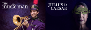 THE MUSIC MAN And JULIUS CAESAR Open Great Lakes Theater 58th Season