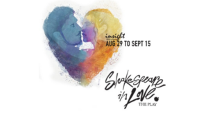 Insight Celebrates 50th Production With SHAKESPEARE IN LOVE 50/50 Campaign