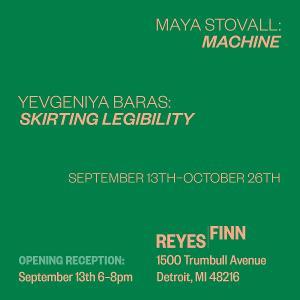 Reyes | Finn Presents Maya Stovall And Yevgeniya Baras