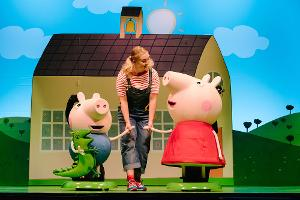 PEPPA PIG LIVE! Comes To The Palace