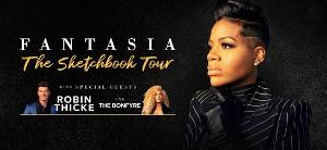 Fantasia Announces Headlining North American Tour With Robin Thicke, And The Bonfyre