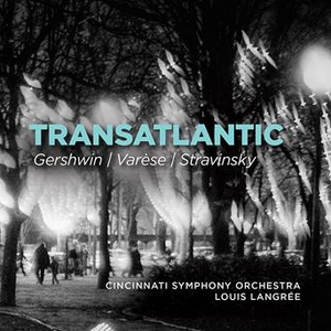 Cincinnati Symphony Orchestra's Gershwin World Premiere Recording Out Now