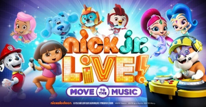 NICK JR. LIVE! Comes To The UIS Performing Arts Center