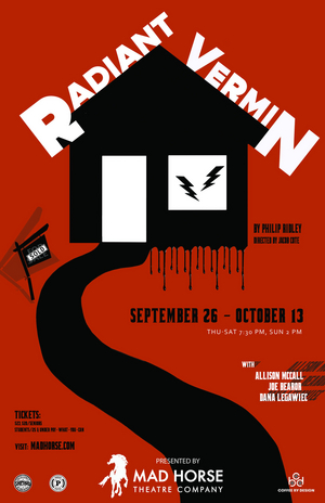 Mad Horse Theatre Opens Its Season With RADIANT VERMIN