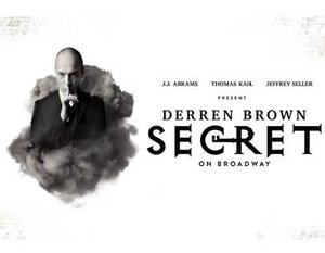 Digital Lottery Announced For DERREN BROWN: SECRET