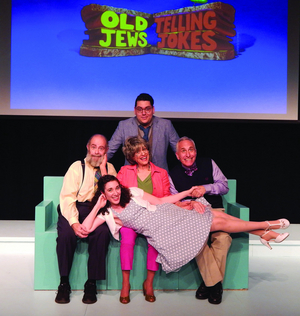 OLD JEWS TELLING JOKES Comes to The Herberger Theater