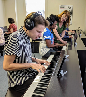 Hoff-Barthelson Music School Launches New Keyboard Lab For Students Of All Ages