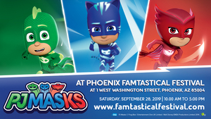 Free Downloadable Tickets Available To See PJ MASKS At Phoenix Famtastical Festival