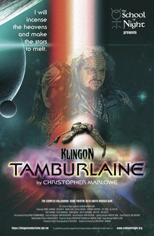 KLINGON TAMBURLAINE Warps Into Theater Row