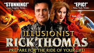Carlsen Center Presents Illusionist Rick Thomas