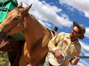 Gideon Irving's The Horse Tour Hits The American West