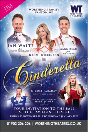 Strictly Come Dancing's Ian Waite Leads Cast Of CINDERELLA At Pavilion Theatre Worthing