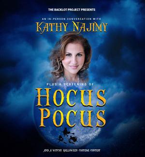Kathy Najimy To Celebrate HOCUS POCUS At MPAC