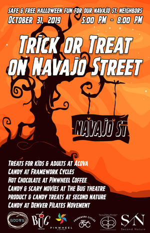 2nd Annual Trick Or Treat On Navajo Street