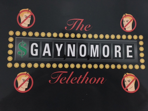 THE GAY NO MORE TELETHON Comes to The Green Room 42