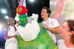 THE VERY HUNGRY CATERPILLAR SHIW Extended Through December At Chi Children's Theatre