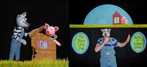 The Ballard Institute Presents THE THREE LITTLE PIGS By Crabgrass Puppet Theatre