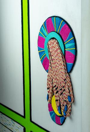 Colorful Fiber Art By Michelle Drummond Comes to The Pompano Beach Cultural Center