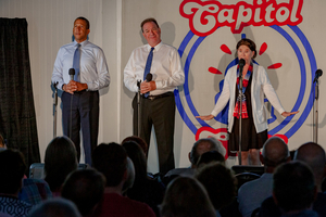 The Capitol Steps Return To Cambridge For Their 20th Annual Thanksgiving Weekend Performances