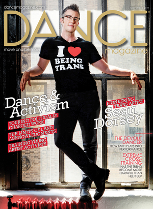 Sean Dorsey Is First Openly-Transgender Artist To Appear On Cover Of Dance Magazine