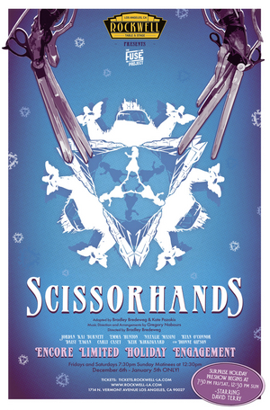 SCISSORHANDS: A Musical Inspired By The Film Returns To Rockwell Table & Stage For The Holiday Season