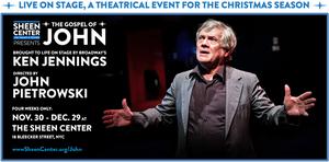 Ken Jennings Stars In THE GOSPEL OF JOHN At The Sheen Center