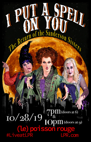 Full Cast Announced For Jay Armstrong Johnson's I PUT A SPELL ON YOU: THE RETURN OF THE SANDERSON SISTERS