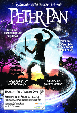 The Holiday Tradition PETER PAN Continues At Playhouse On The Square