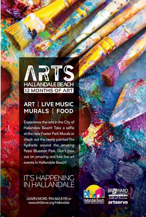 City Of Hallandale Beach And ArtServe Partner For City's Artistic Rebranding