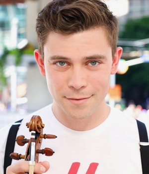 Edmund Bagnell, Singing Violinist Of Well-Strung Brings New Solo Show To Feinstein's/54 Below