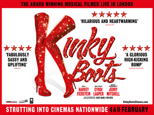 KINKY BOOTS Will Be Screened In Cinemas Across The UK And Ireland
