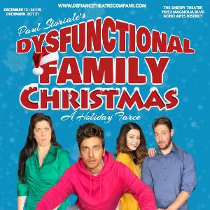 DYSFUNCTIONAL FAMILY CHRISTMAS Will Come to The Sherry Theater