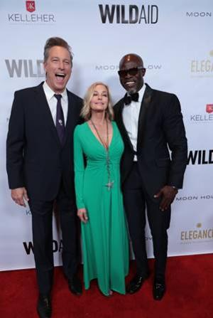 WildAid Honors Lupita Nyong'o With Special Guest Djimon Hounsou At Annual Gala