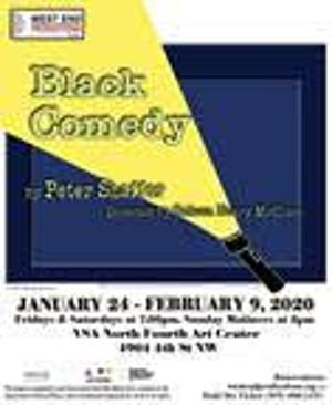 West End Productions Presents Peter Shaffer's BLACK COMEDY
