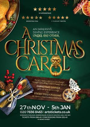 A CHRISTMAS CAROL Comes to Immersive LDN This Christmas