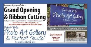 Gulfport Welcomes Debbie Wolfe Photo Art Gallery & Portrait Studio