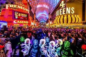 Join The Party! Ring In NYE, 2020 At Fremont Street Experience