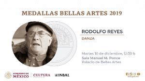 La Medalla Bellas Artes Corona La Trayectoria De Rodolfo Reyes A Seis Décadas En La Danza Contemporánea