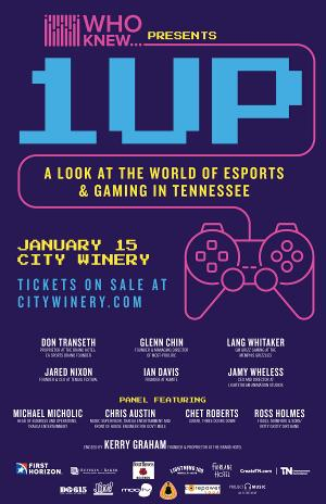 Additional Speakers Added To WHO KNEW Presents Esports And Gaming In Tennessee