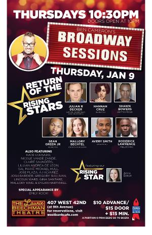 BROADWAY SESSIONS Begins New Seasons This Week, 1/9