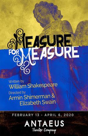 Shakespeare's Dark Comedy MEASURE FOR MEASURE Announced At Antaeus