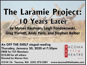 TLT Presents THE LARAMIE PROJECT: TEN YEARS LATER