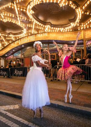 Brooklyn Ballet To Make History With Iconic Multi-Cultural Pas De Quatre