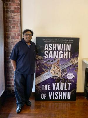 Ashwin Sanghi's Latest Book 'The Vault Of Vishnu' Will Be Launched At Jaipur Literature Festival