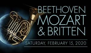 Romance Your Valentine With Beethoven, Mozart & Britten with Las Vegas Philharmonic