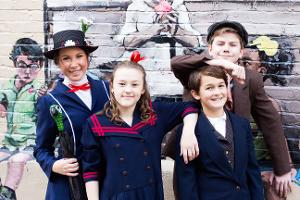MARY POPPINS JR. Comes to Elm Street