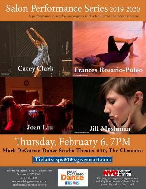 Mark Degarmo Dance Presents The February 2020 Edition Of Its Transcultural Transdisciplinary Salon Performance Series