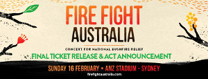 Michael Buble & 5 Seconds Of Summer Join All Star Line-up For FIRE FIGHT AUSTRALIA
