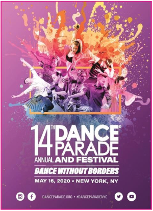 Powerhouse Dance And Music Innovators David Dorfman, Princess Lockeroo, Sarina Jain And Dj Liquid Todd Headline Dance Parade's 14th Annual Parade And Festival